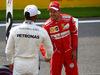 GP BELGIO, 26.08.2017 - Qualifiche, Lewis Hamilton (GBR) Mercedes AMG F1 W08 pole position e 2nd place Sebastian Vettel (GER) Ferrari SF70H