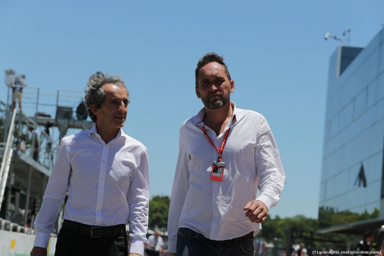 GP BRASILE, 12.11.2017 - Alain Prost (FRA) Renault Sport F1 Team Special Advisor