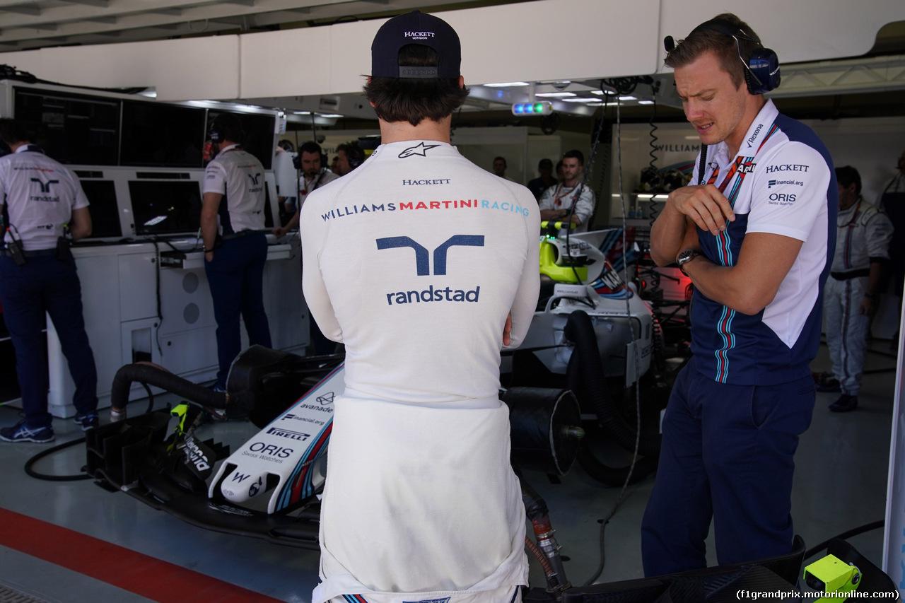 GP BRASILE, 12.11.2017 - Gara, Lance Stroll (CDN) Williams FW40