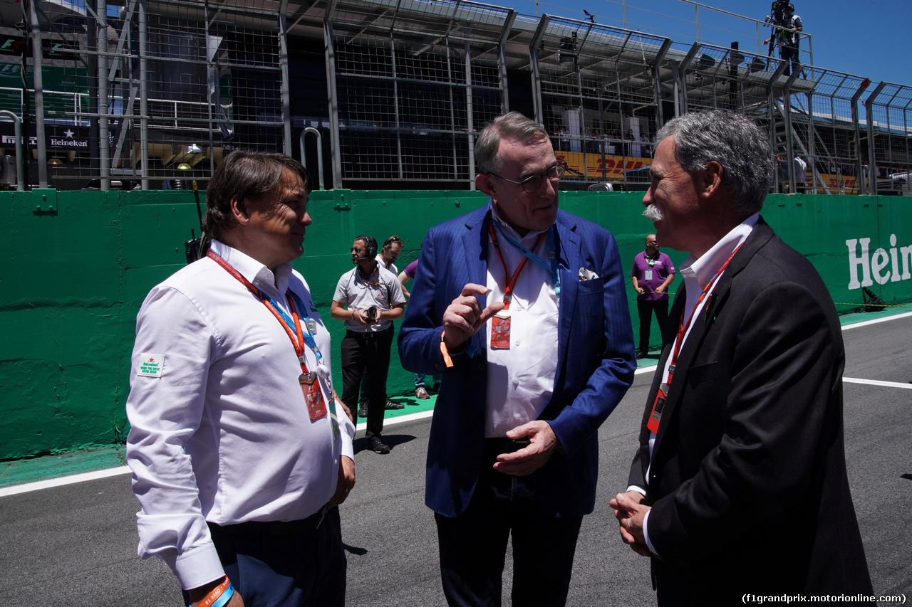 GP BRASILE, 12.11.2017 - Gara, Chase Carey (USA) Formula One Group Chairman