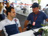 GP BRASILE, 12.11.2017 - Felipe Massa (BRA) Williams FW40 e Rubens Barrichello (BRA)
