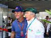 GP BRASILE, 12.11.2017 - Rubens Barrichello (BRA) e Sir Jackie Stewart (GBR)
