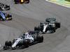 GP BRASILE, 12.11.2017 - Gara, Lance Stroll (CDN) Williams FW40 e Lewis Hamilton (GBR) Mercedes AMG F1 W08