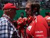 GP BRASILE, 12.11.2017 - Gara, Nikki Lauda (AU), Mercedes e Gino Rosato (CAN), Ferrari