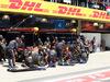 GP BRASILE, 12.11.2017 - Gara, Pit stop, Max Verstappen (NED) Red Bull Racing RB13