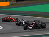 GP BRASILE, 12.11.2017 - Gara, Romain Grosjean (FRA) Haas F1 Team VF-17 e Lance Stroll (CDN) Williams FW40