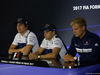 GP BRASILE, 09.11.2017 - Conferenza Stampa, Lance Stroll (CDN) Williams FW40, Felipe Massa (BRA) Williams FW40 e Marcus Ericsson (SUE) Sauber C36