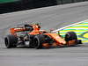 GP BRASILE, 11.11.2017 - Free Practice 3, Stoffel Vandoorne (BEL) McLaren MCL32