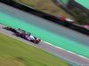 GP BRASILE, 11.11.2017 - Free Practice 3, Romain Grosjean (FRA) Haas F1 Team VF-17 e Brendon Hartley (NZL) Scuderia Toro Rosso STR12