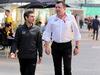 GP BRASILE, 10.11.2017 - Free Practice 1, Andrea Stella (ITA) Mclaren race Engineer e Eric Boullier (FRA) McLaren Racing Director