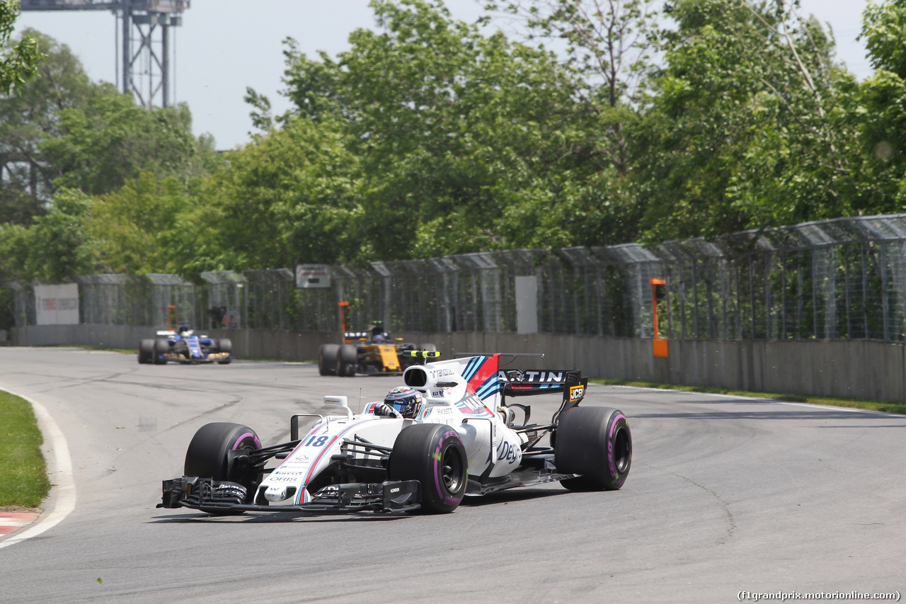 GP CANADA, 11.06.2017- Lance Stroll (CDN) Williams FW40