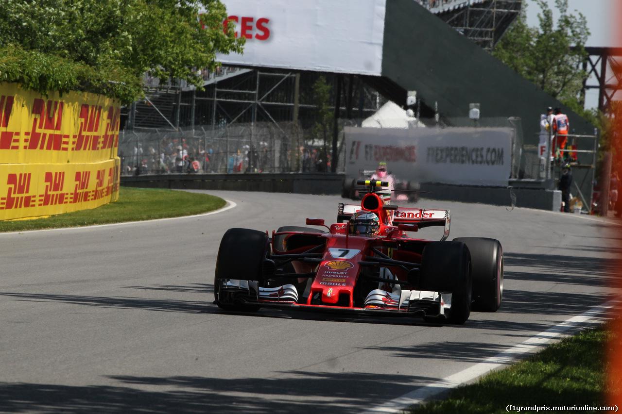 GP CANADA, 11.06.2017- Gara, Kimi Raikkonen (FIN) Ferrari SF70H
