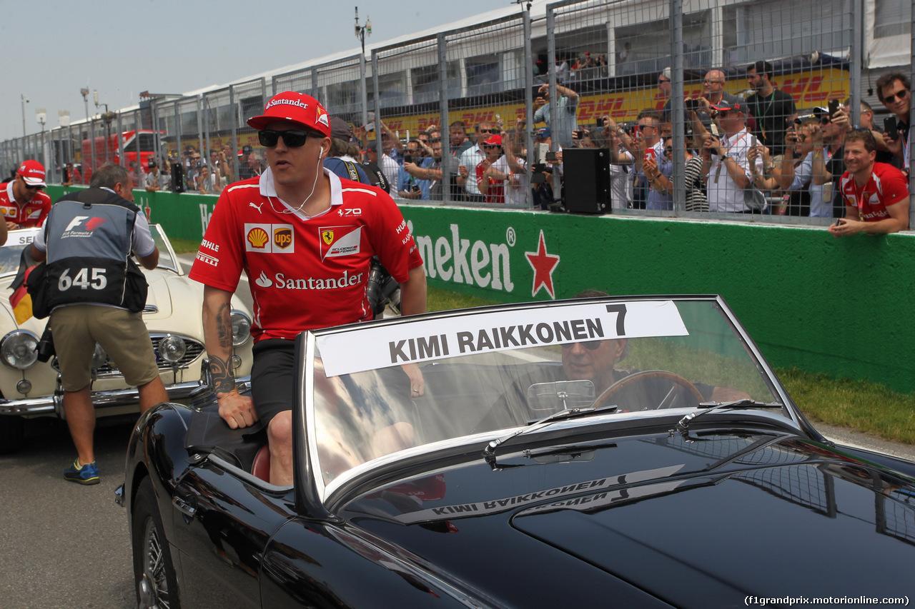 GP CANADA, 11.06.2017- Kimi Raikkonen (FIN) Ferrari SF70H