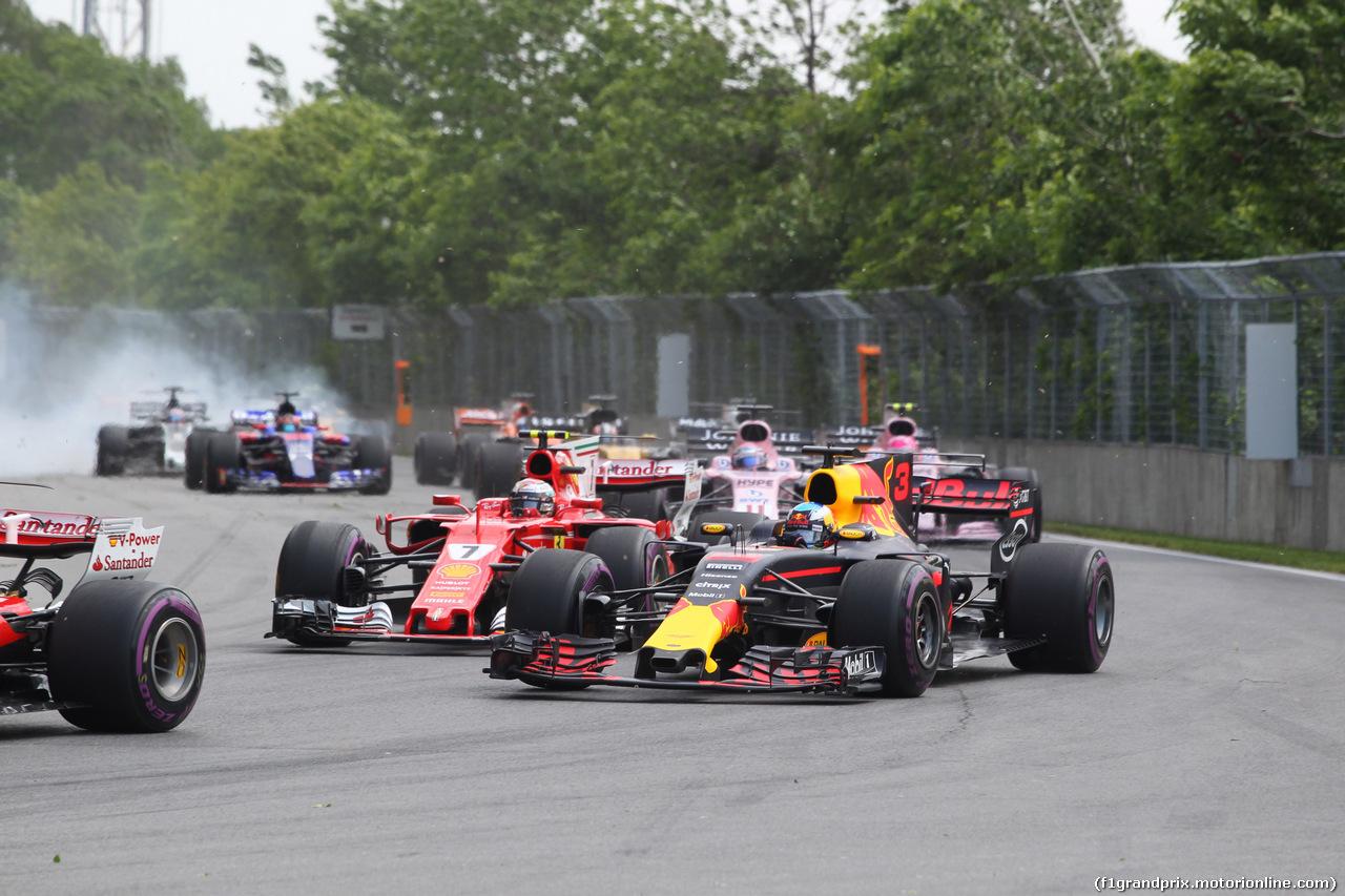 GP CANADA, 11.06.2017- Gara, Daniel Ricciardo (AUS) Red Bull Racing RB13