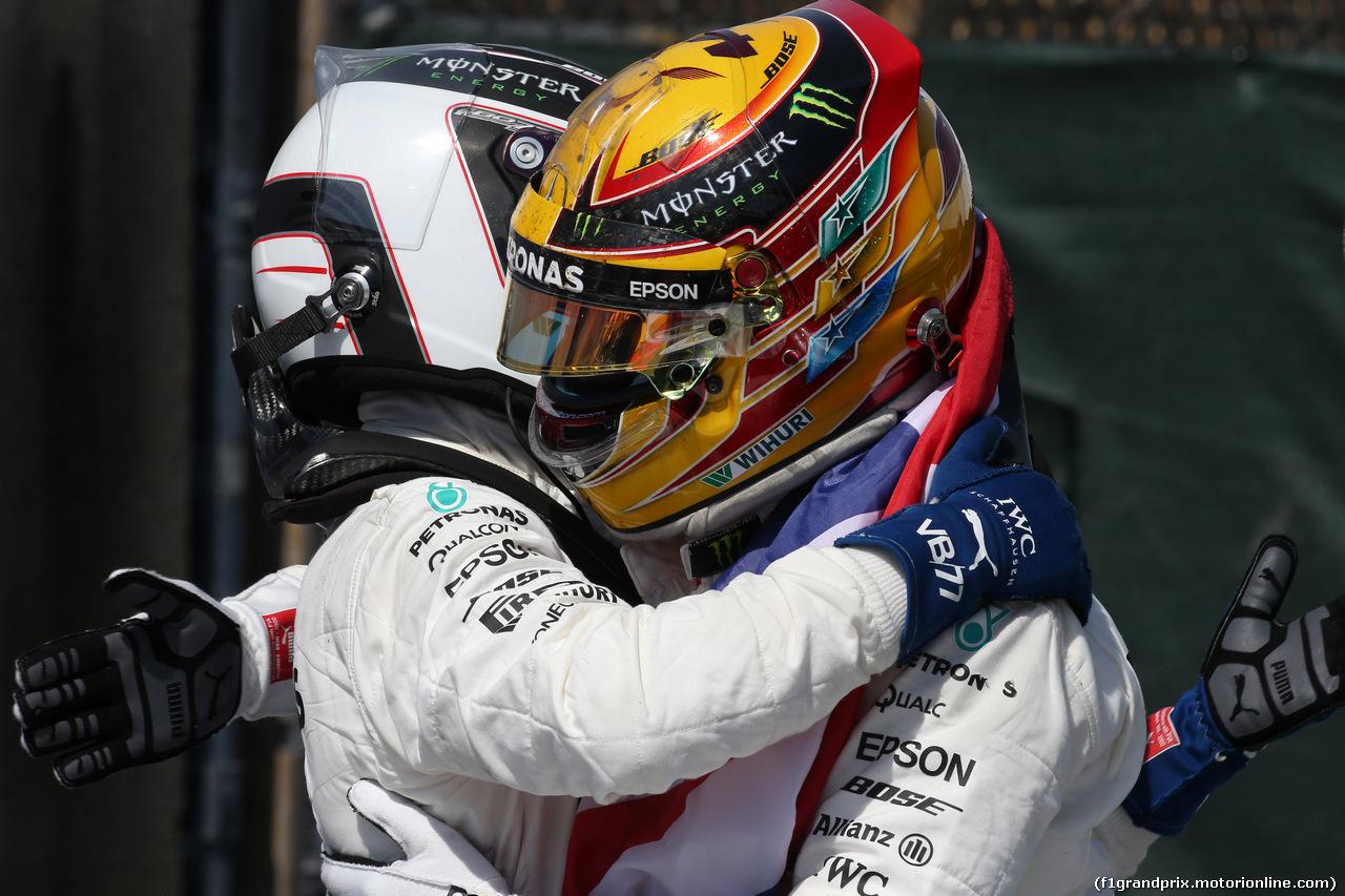 GP CANADA, 11.06.2017, Lewis Hamilton (GBR) Mercedes AMG F1 W08  e Valtteri Bottas (FIN) Mercedes AMG F1 W08