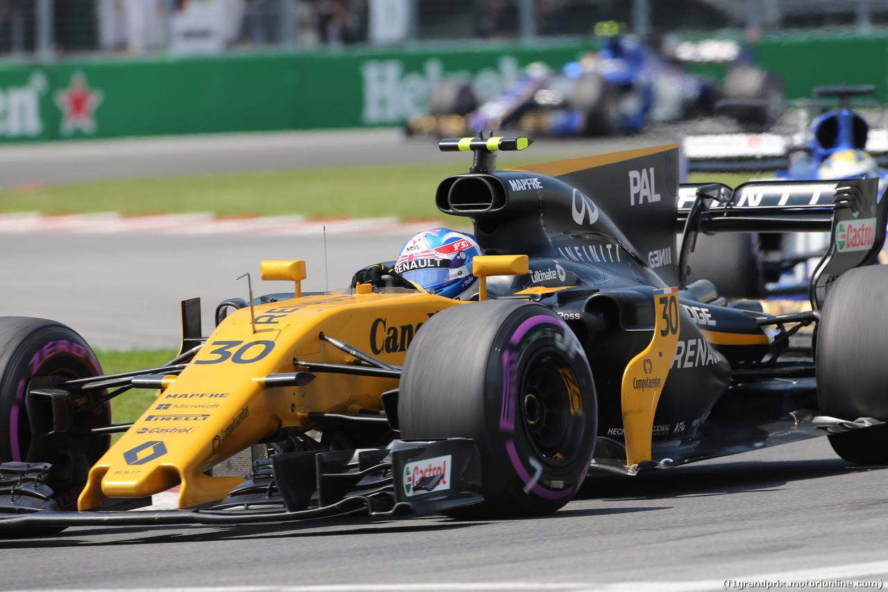 GP CANADA, 11.06.2017- Gara, Jolyon Palmer (GBR) Renault Sport F1 Team RS17
