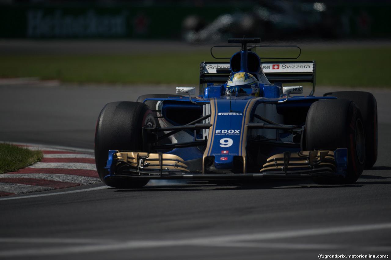 GP CANADA, 11.06.2017- Gara, Marcus Ericsson (SUE) Sauber C36