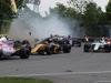 GP CANADA, 11.06.2017- Gara, Carlos Sainz Jr (ESP) Scuderia Toro Rosso STR12 crash