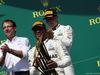 GP CANADA, 11.06.2017, Podium, winner Lewis Hamilton (GBR) Mercedes AMG F1 W08 , 2nd Valtteri Bottas (FIN) Mercedes AMG F1 W08 e the mercedes Team Representative