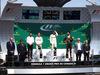 GP CANADA, 11.06.2017- Podium, Winner Lewis Hamilton (GBR) Mercedes AMG F1 W08 , 2nd Valtteri Bottas (FIN) Mercedes AMG F1 W08, 3rd Daniel Ricciardo (AUS) Red Bull Racing RB13
