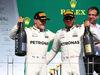 GP CANADA, 11.06.2017- Podium, winner Lewis Hamilton (GBR) Mercedes AMG F1 W08  e 2nd Valtteri Bottas (FIN) Mercedes AMG F1 W08