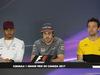 GP CANADA, 08.06.2017- Giovedi'  Press Conference, L to R Lewis Hamilton (GBR) Mercedes AMG F1 W08 , Fernando Alonso (ESP) McLaren Honda MCL32, Jolyon Palmer (GBR) Renault Sport F1 Team RS17