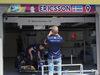 GP CANADA, 08.06.2017- Marcus Ericsson (SUE) Sauber C36 is taking a picture of his garage panel