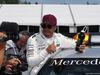 GP CANADA, 10.06.2017- Pole Position Festeggiamenti Lewis Hamilton (GBR) Mercedes AMG F1 W08