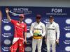 GP CANADA, 10.06.2017- Pole Position: pole Festeggiamenti Lewis Hamilton (GBR) Mercedes AMG F1 W08, 2nd Sebastian Vettel (GER) Ferrari SF70H, 3rd Valtteri Bottas (FIN) Mercedes AMG F1 W08