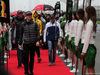 GP CINA, 09.04.2017 - Romain Grosjean (FRA) Haas F1 Team VF-17, Stoffel Vandoorne (BEL) McLaren MCL32, Jolyon Palmer (GBR) Renault Sport F1 Team RS17 e Felipe Massa (BRA) Williams FW40