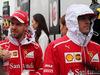 GP CINA, 09.04.2017 - Sebastian Vettel (GER) Ferrari SF70H e Kimi Raikkonen (FIN) Ferrari SF70H