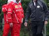 GP CINA, 09.04.2017 - Alberto Antonini (ITA), Ferrari Press Officer e Ross Brawn (GBR) Formula One Managing Director of Motorsports