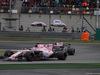 GP CINA, 09.04.2017 - Gara, Sergio Perez (MEX) Sahara Force India F1 VJM010 davanti a Esteban Ocon (FRA) Sahara Force India F1 VJM10