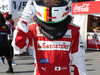 GP GIAPPONE, 08.10.2017- Sebastian Vettel (GER) Ferrari SF70H young fan
