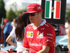 GP GIAPPONE, 08.10.2017- driver parade, Kimi Raikkonen (FIN) Ferrari SF70H