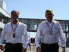 GP GIAPPONE, 08.10.2017- Chase Carey (US), Liberty Media e Ross Brawn (GBR) Formula One Managing Director of Motorsports