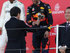 GP GIAPPONE, 08.10.2017- Gara, the podium: 3rd Max Verstappen (NED) Red Bull Racing RB13