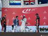 GP GIAPPONE, 08.10.2017- Gara, the podium: winner Lewis Hamilton (GBR) Mercedes AMG F1 W08 , 2nd Max Verstappen (NED) Red Bull Racing RB13 e 3rd Daniel Ricciardo (AUS) Red Bull Racing RB13 with Takuma Sato (JPN) indy driver