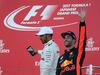 GP GIAPPONE, 08.10.2017- Gara, the podium: winner Lewis Hamilton (GBR) Mercedes AMG F1 W08 e Daniel Ricciardo (AUS) Red Bull Racing RB13