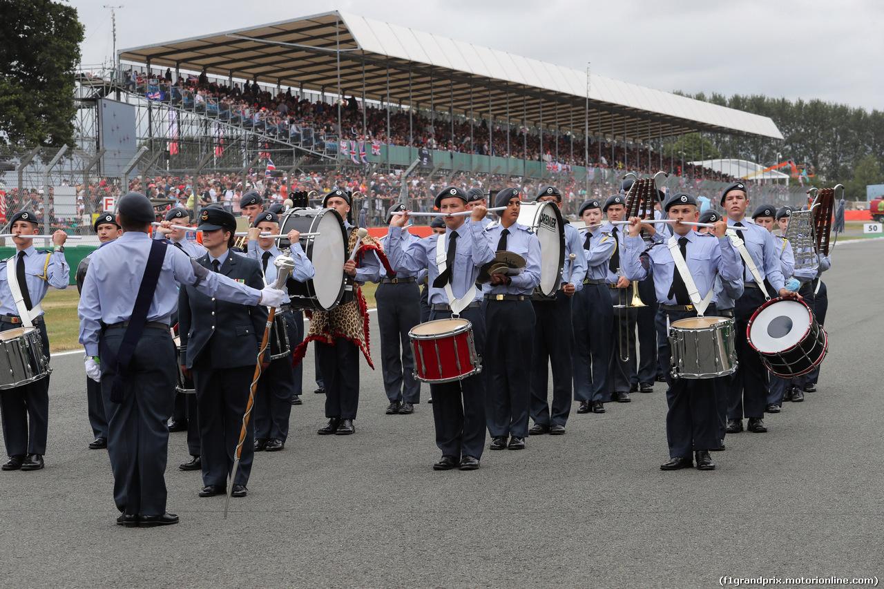 GP GRAN BRETAGNA, 16.07.2017 - Gara, Atmosphere