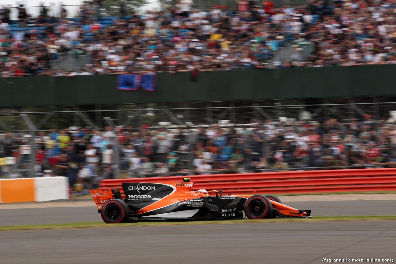 GP GRAN BRETAGNA, 16.07.2017 - Gara, Stoffel Vandoorne (BEL) McLaren MCL32