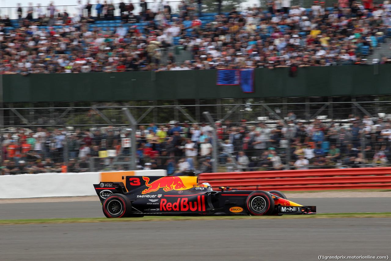 GP GRAN BRETAGNA, 16.07.2017 - Gara, Daniel Ricciardo (AUS) Red Bull Racing RB13
