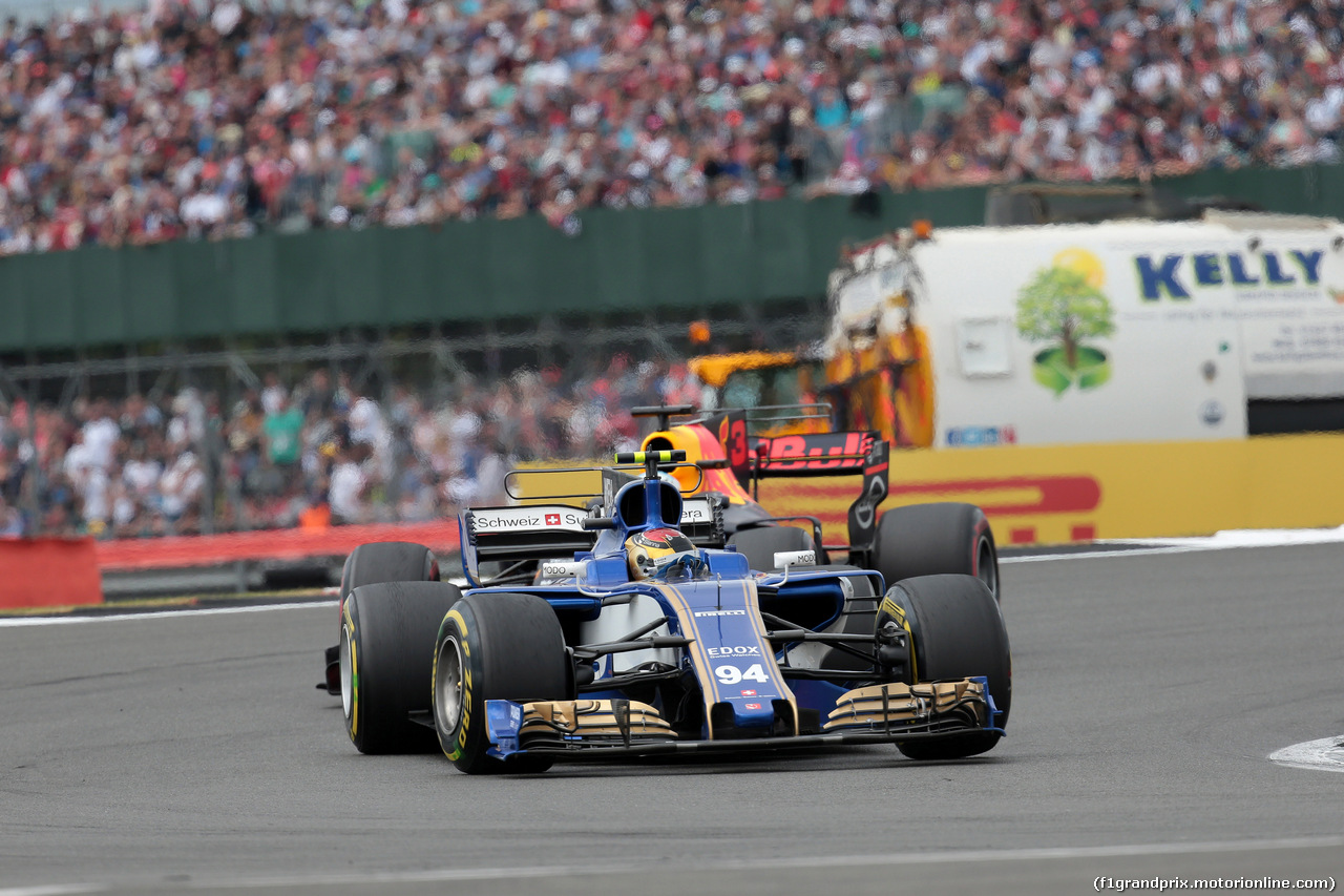 GP GRAN BRETAGNA, 16.07.2017 - Gara, Pascal Wehrlein (GER) Sauber C36