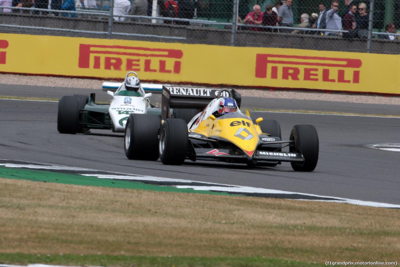 GP GRAN BRETAGNA, 16.07.2017 - Williams & Renault 40th anniversary parade
