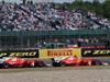 GP GRAN BRETAGNA, 16.07.2017 - Gara, Sebastian Vettel (GER) Ferrari SF70H e Kimi Raikkonen (FIN) Ferrari SF70H