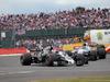 GP GRAN BRETAGNA, 16.07.2017 - Gara, Romain Grosjean (FRA) Haas F1 Team VF-17 e Felipe Massa (BRA) Williams FW40