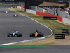 GP GRAN BRETAGNA, 16.07.2017 - Gara, Valtteri Bottas (FIN) Mercedes AMG F1 W08 e Nico Hulkenberg (GER) Renault Sport F1 Team RS17