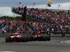 GP GRAN BRETAGNA, 16.07.2017 - Gara, Sebastian Vettel (GER) Ferrari SF70H e Max Verstappen (NED) Red Bull Racing RB13