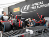 GP GRAN BRETAGNA, 13.07.2017 - Pirelli garage