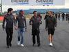 GP GRAN BRETAGNA, 13.07.2017 - Antonio Giovinazzi (ITA) Haas F1 Team Test Driver e Kevin Magnussen (DEN) Haas F1 Team VF-17